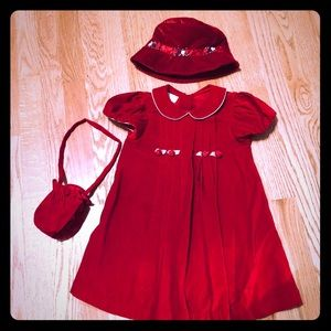 Girls Christmas Dress, Outfit. Size 4T